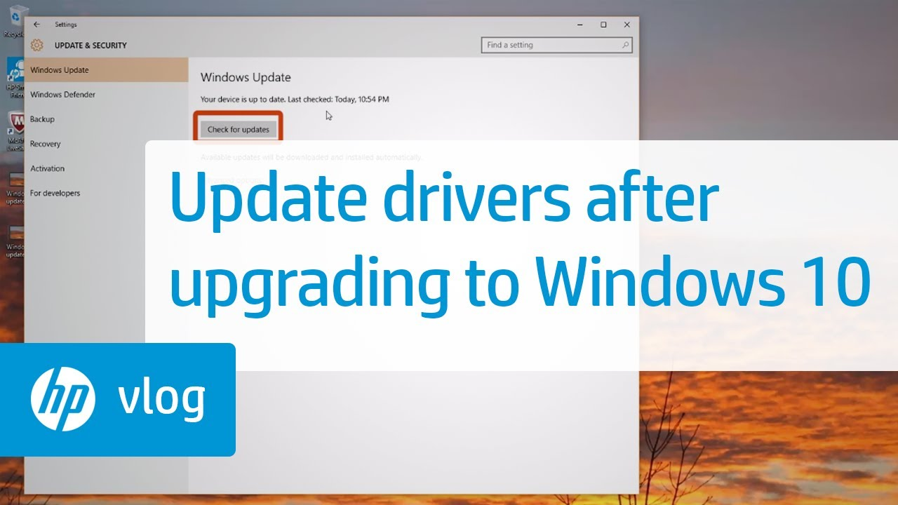 How to Update Drivers After Upgrading to Windows 10: HP How To For You | HP  Computers | HP