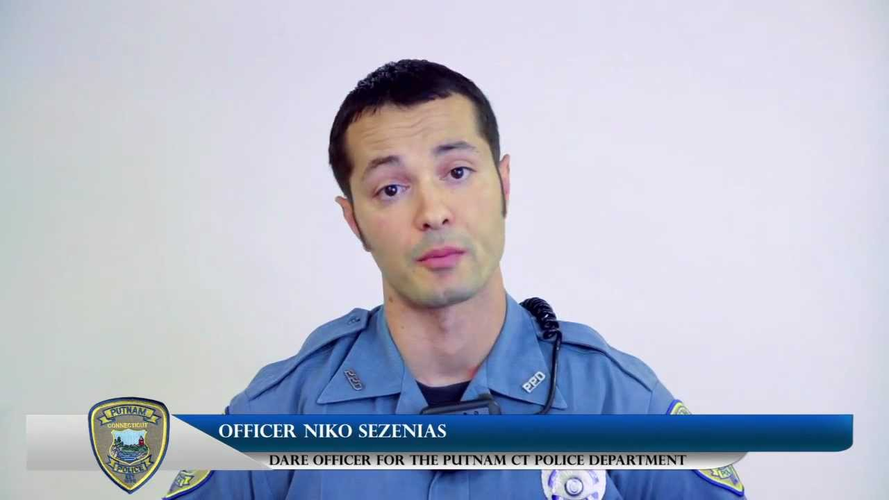 Putnam Police Department - Dare Officer Niko Sezenias