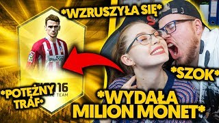 MOJA DZIEWCZYNA WYDAWAŁA MILION MONET NA ZAKUPY W SKLEPIE FIFA *wzruszyła się*