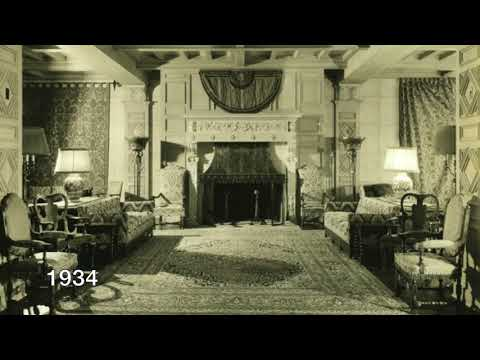 Hotel Hershey's design was influenced by Milton Hershey's travels: vintage photos