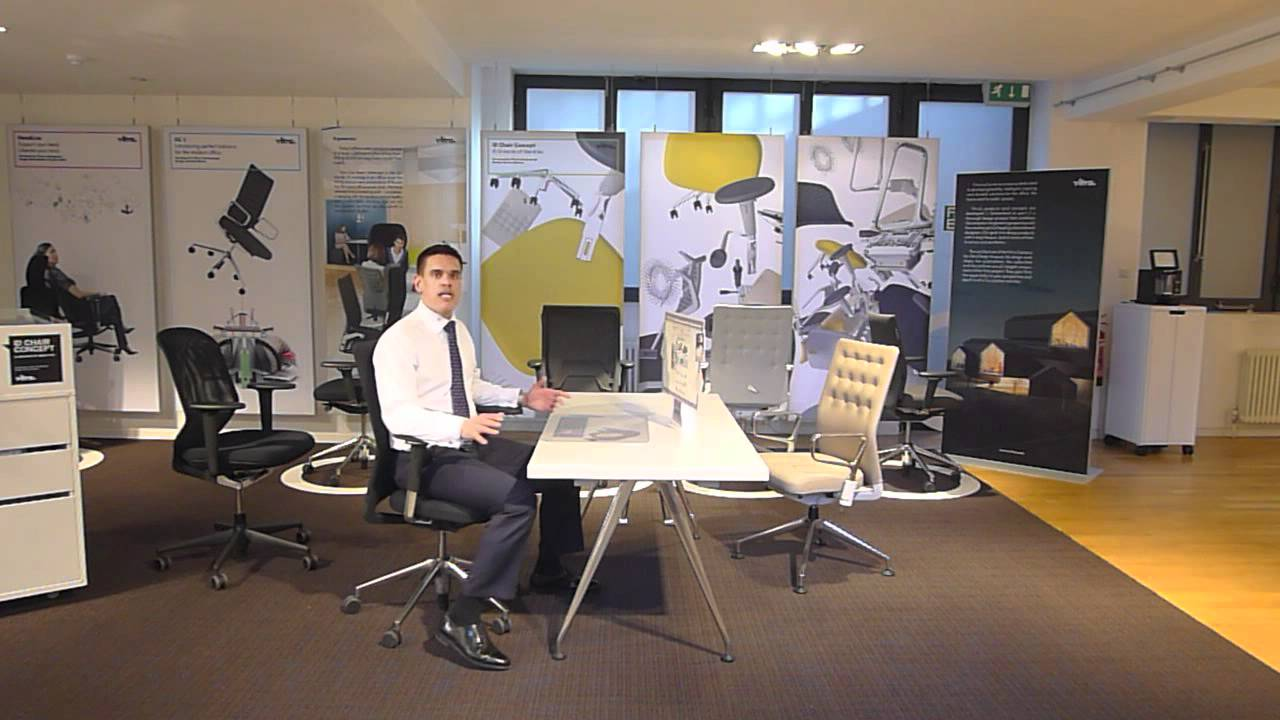 Vitra Id Chair User Guide Youtube