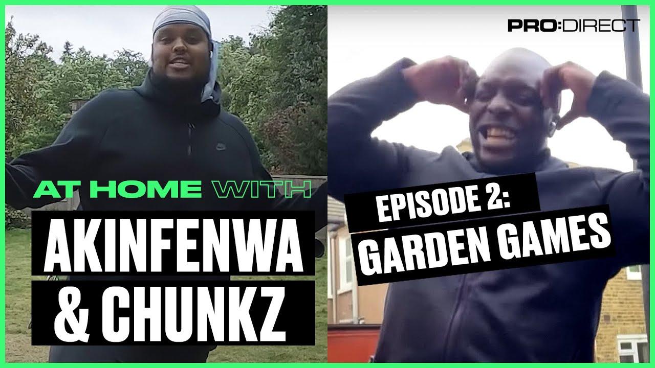 Chunkz vs Akinfenwa Garden Tekkers Challenge