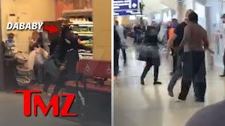 DaBaby Attacks Airport Food Stand Employee | TMZ