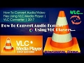 How To Convert M4A~MP3 Using VLC Player |VLC Converter|Windows|Working Method