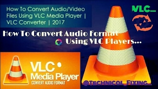 How To Convert Audio [M4A~MP3] Using VLC Player  VLC Converter Windows Working Method