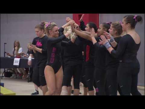 Gymnastics  vs Western Michigan University 2015: Camera 2 Handheld