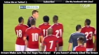Brazil vs Colombia 1-0 2014 FULL MATCH