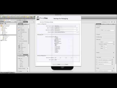 Wakanda : New PhoneGap Extension on MAC (from Wakanda to IPhone)