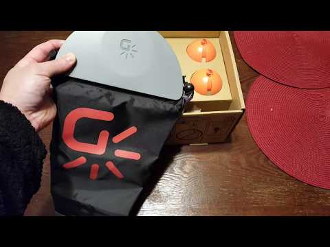 Unboxing my Gravity Light. CLEAN ENERGY ALTERNATIVE ENERGY