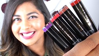 NEW L.A. Girl Matte Flat Velvet Lipsticks: Review & Lip Swatches!
