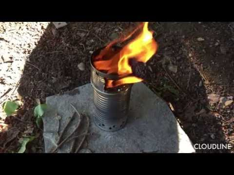 How to Make a Tin Can Wood Gas Ultra Light Backpacking Stove