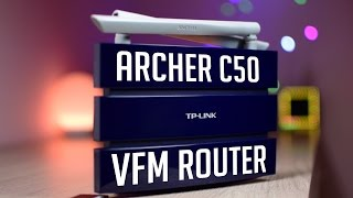 Archer C50 TP-LINK AC1200 Dualband Wifi Router