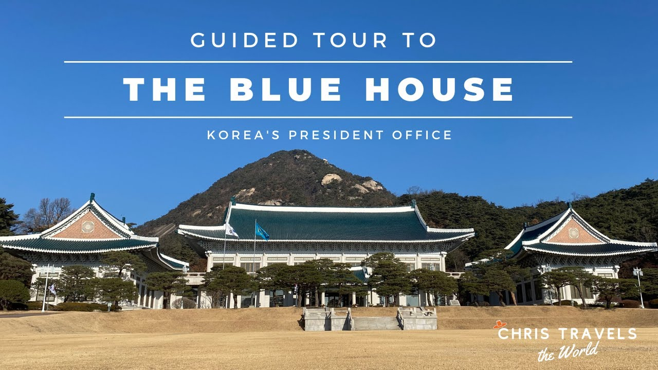 The Blue House Cheong Wa Dae Guided Tour To South Korea S