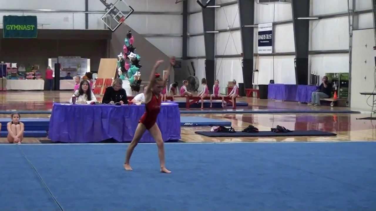 USGA 2013 - 2021 Level 3 Gymnastics Alina's Floor Routine ...
