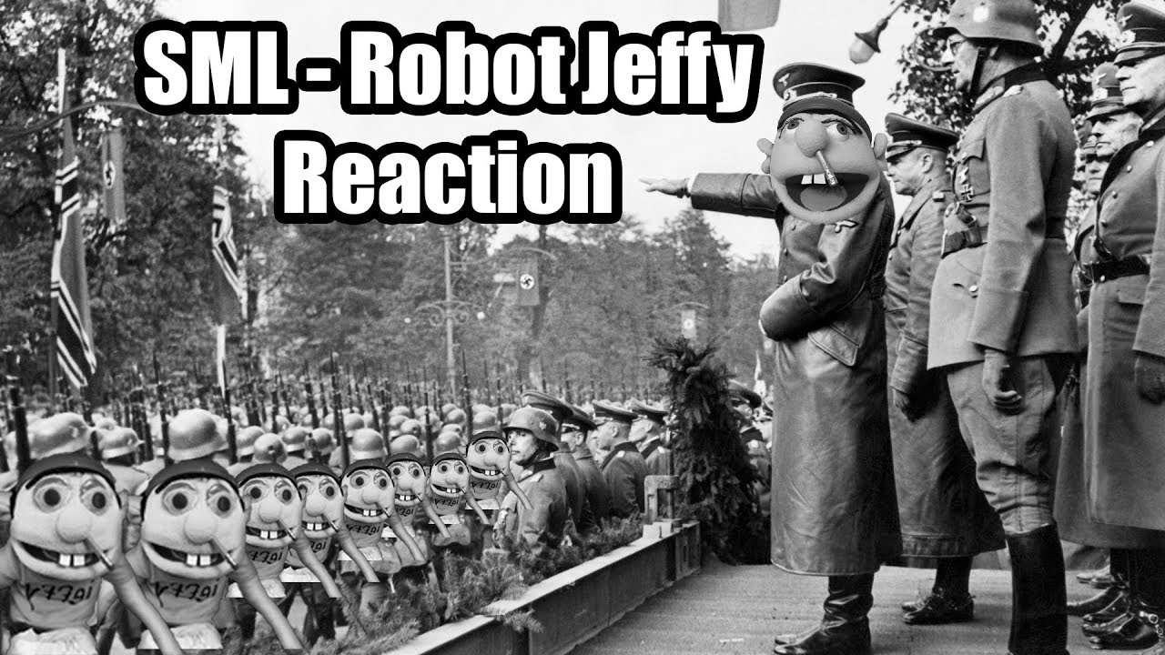 Reaction in the movie i robot