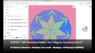 20200611 MG GeoGebra Reflect Two Polygons DynamicColors 01