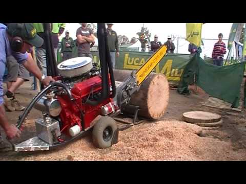 Australian V8 Chainsaw made by Whitlands Engineering www.superaxe.com.au