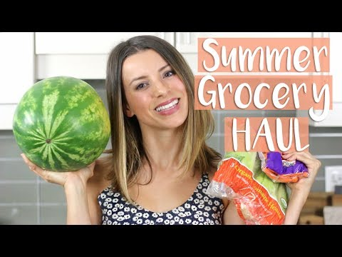 Healthy GROCERY HAUL | WHAT I EAT IN A WEEK