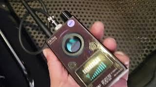 차량용 위치추적기 GPS 탐지기로 찾는 시연동영상 FX…
