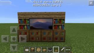 Как сделать мебель в minecraft pe 0.11.0 без модов