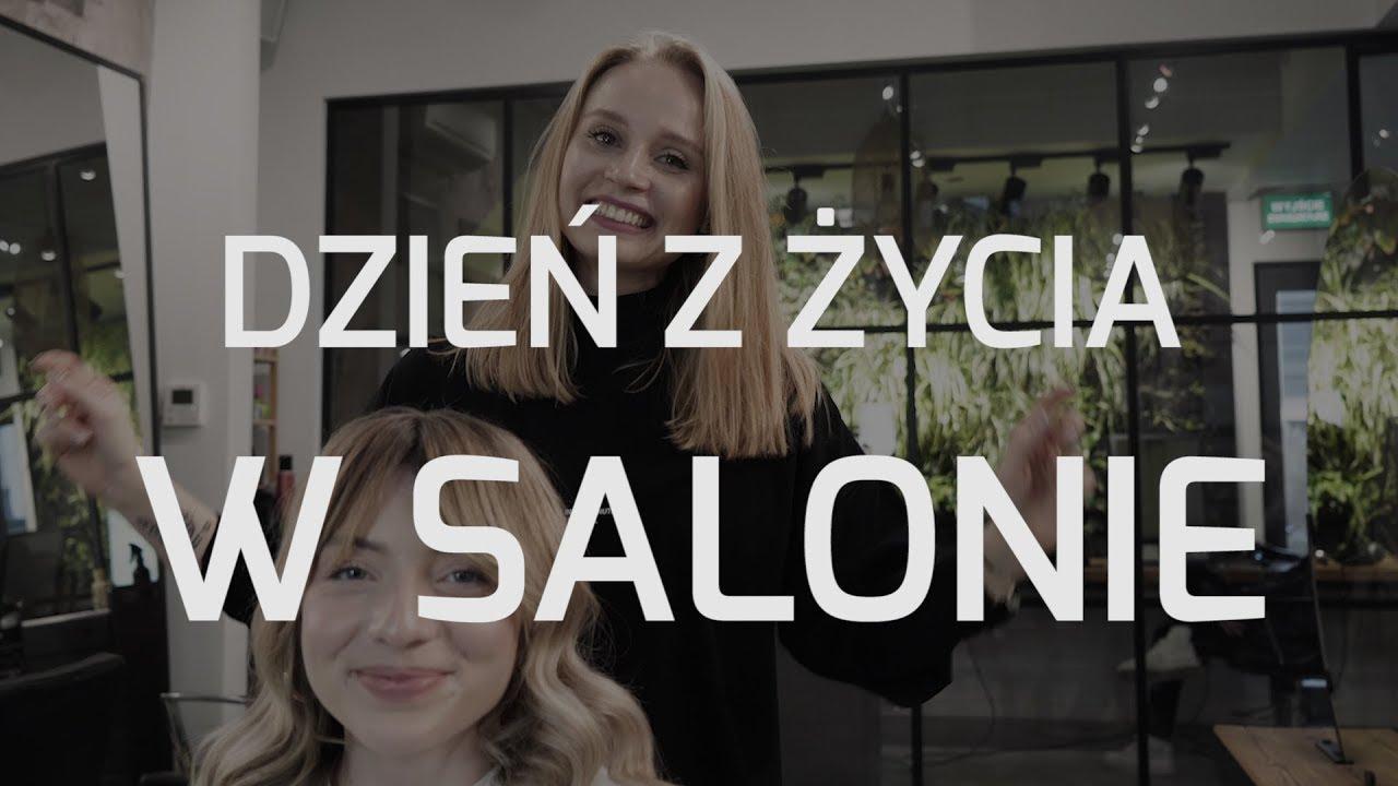Dzień z życia w salonie. Jak wygląda wizyta u fryzjera? - metamorfoza Lucy