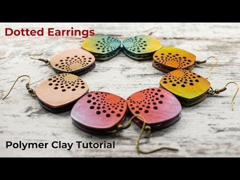 Dotted Earrings -