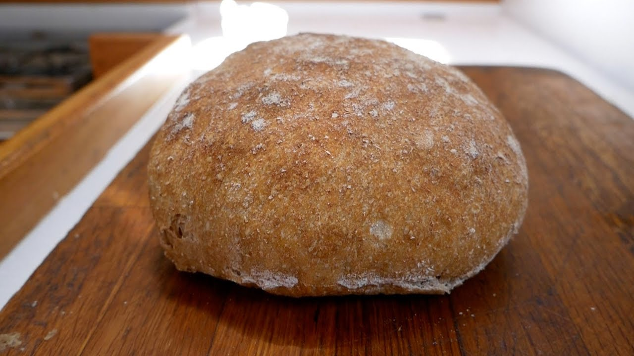 How to Make No-knead bread at Boat