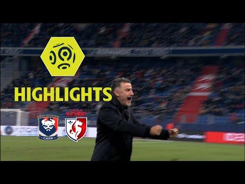 SM Caen - LOSC (0-1) - Highlights - (SMC - LOSC) / 2017-18