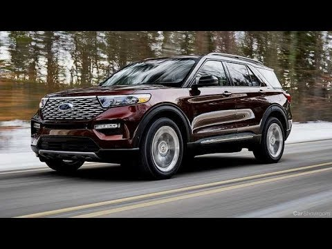 2020 Ford Explorer Driving and Specs