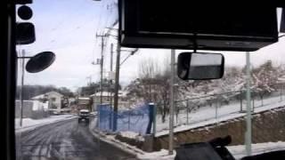 ところバス[東路線松井循環]東所沢駅→あけぼの橋北・前面展望