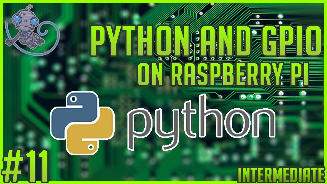 Install Python3 and GPIO to the Raspberry Pi #tt11