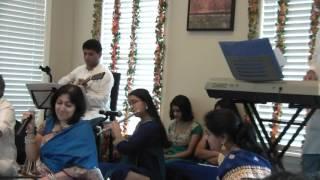 Download Hindi Video Songs - 2015 Diwali Pahat in Atlanta - Nimbonichya Jhada Mage Chandra Zopla Ka Bai