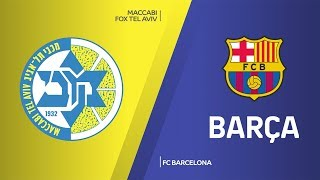 Maccabi FOX Tel Aviv - FC Barcelona Highlights | Turkish Airlines EuroLeague, RS Round 19