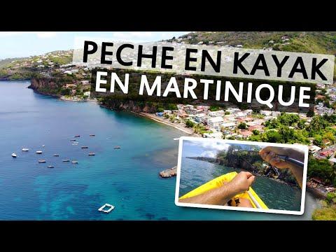 Pêche de poissons de roche en Kayak vers Fond Lahaye - Martinique
