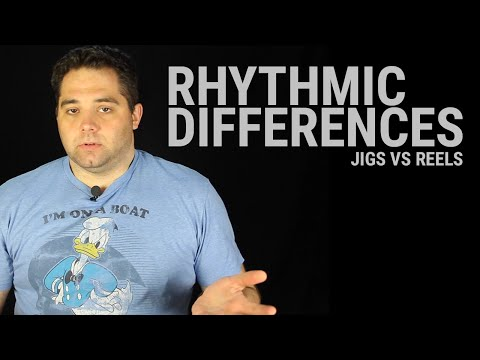 Tin Whistle Lesson - Rhythmic differences in tunes