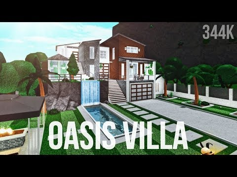 Bloxburg: Oasis Villa 344K