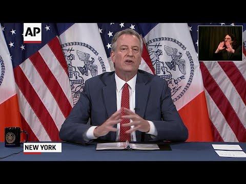 Associated Press: Mayor: NYC taken 'step forward' in restoring order