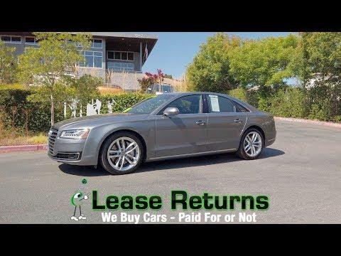 2015 Audi A8 4QT Overview Review - eLeaseReturns.com
