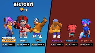 Touchdown Bull vs Carl vs Barley vs Dynamike | Funny Moments & Glitches & Fails Brawl Stars Montage
