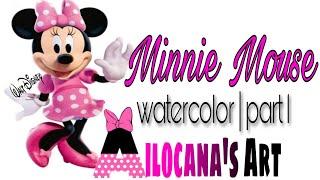 Minnie Mouse Artwork  PART 1