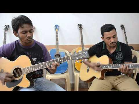 Tik Tik Vajate Dokyat - (Duniyadari) Guitar lead and chords by Arvind & Ravi)