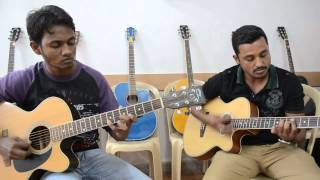 Tik Tik Vajate Dokyat - (Duniyadari) Guitar lead and chords by Arvind & Ravi)