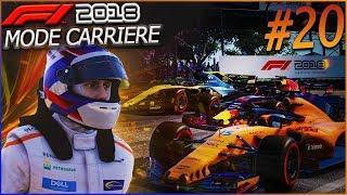 F1 2018 Mode Carrière Part20: Brésil | TOUS LE MÊME MOTEUR
