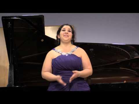 Victoria Pena, Mezzo Soprano, Senior Recital.