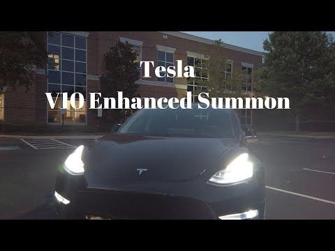 Tesla V10 Enhanced Summon - MIND BLOWN!