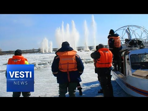 Russian Far East Regions Prepare For Spring Flooding, Emergency Relief on Standby!