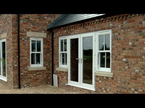 French Doors with Side Windows at Home Designs