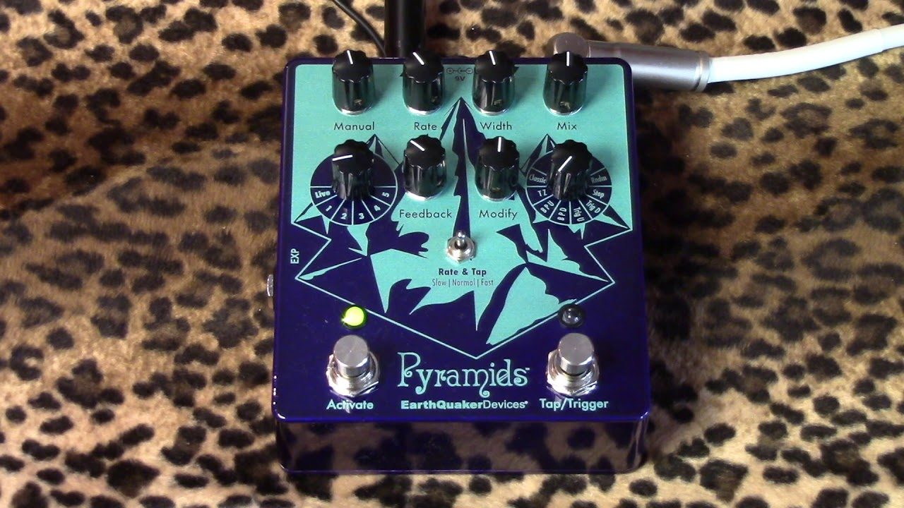 Earthquaker Devices PYRAMIDS Flanger of glorious sweeping bliss and ...