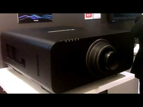 ISE 2014: Panasonic Shows 4K 20,000 Lumens Projector, in Development
