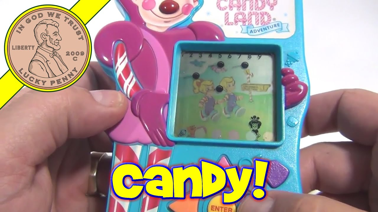 Candy Land Adventure Electronic Handheld Game 1997 Milton